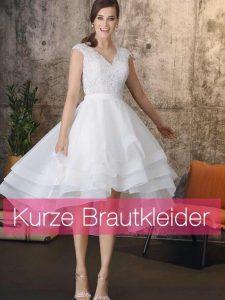 kurze Brautkleider Standesamtkleider Brautmode Horn München