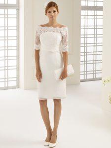 Standesamtkleid kurzes Brautkleid Hochzeitskleid Brautmode Horn München
